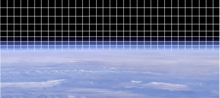 Image credit: NASA  (I removed the moon and added the lattice lines)